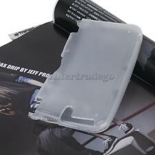 Protective Silicone Case Skin Cover for Nintendo 3DS LL XL Clear White