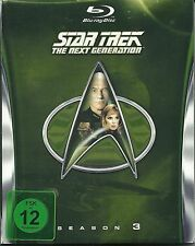 Star Trek Next Generation Season 3 Blu-Ray Deutsche Ausgabe