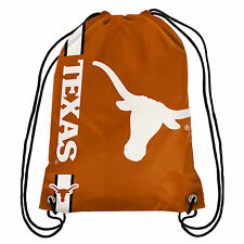 NCAA Texas Longhorns Big Logo Side Stripe Drawstring Backpack Backsack