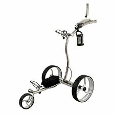 NovaCaddy Luxury Electric Remote Control Golf Trolley, LX1R, 24V, Lithium, SS