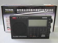 TECSUN PL-600 FM、LW、MW、LW PLL SSB Radio PL600 (Black)