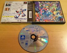 ROCKMAN X3 NTSC-J JAPANESE JAPAN for SONY PS1, PS2 & PS3 RARE by Capcom