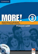More! Level 3 Workbook with Audio CD Czech edition, Lewis-Jones, Peter, Holzmann