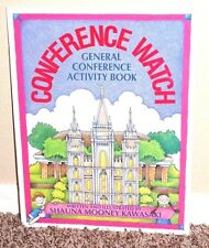 CONFERENCE WATCH GENERAL CONFERENCE ACTIVITY BOOK by Kawasaki 1998 LDS MORMON PB
