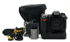 Nikon D200 10.2MP DSLR Camera Body, MB-D200 Battery Grip, 23447 (106 actuations)