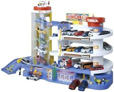 TAKARA TOMY Tomica Super Auto Tomikabiru Building Car Garage Parking