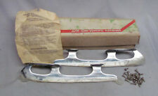 Vintage Russian(?) Figure Ice Skating Skate Blades in Original Box Never Used!