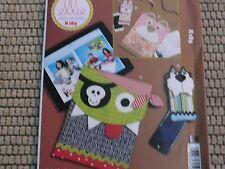 Kwik Sew K189 Ellie Mae Designs kids laptop case phone cover sewing Pattern