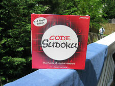 Code Sudoku Hidden Numbers Game 2006 By Pressman New & Factory Sealed!