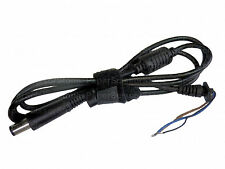 2Pcs DC 7.4x5 Tip Plug Power Supply Cable Cord for HP DELL PA-10