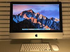 "2010 21.5"" iMac Intel 3.06GHz i3 12GB RAM 500GB HD Office CS6 Final Cut Pro"