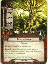 Lord of the Rings LCG  - 1x Deadly Huorn  #035 - The Voice of Isengard