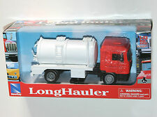 Newray - MAN F2000 Rigid Vacuum Tanker (Orange) Truck Lorry Model Scale 1:43
