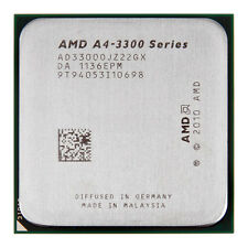 AMD A4-3300 2,5 GHz Dual Core SOCKET FM1 a4-series CPU ad3300ojz22gx 1 MB di cache