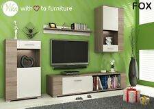 Moderna Living Room Furniture Set Fox TV soporte Gabinete Unidad Alacena montado en la pared