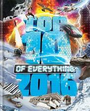 Top 10 of Everything: 2016 by Paul Terry (Hardback, 2015)