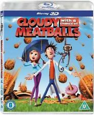 CLOUDY WITH A CHANCE OF MEATBALLS - 3D **NEW BLU-RAY**