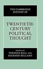 The Cambridge History of Twentieth-Century Political Thought (The Cambridge Hist