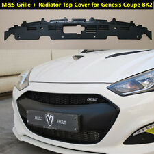 M&S ABS Tuning Grille for Hyundai Genesis Coupe + OEM Radiator Top Cover [2013+]