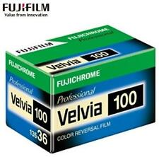 FUJI Fujichrome Velvia 100 RVP 36exp PRO 135 35mm Color Reversal Slide Film