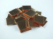 50pcs Hearsinks&Cooling Copper Heatsinks Pad Shim laptop CPU Size:15*15*0.5mm