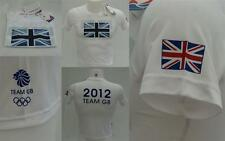 London 2012 Olympic Adidas Team GB Flag Junior Boys Tee T-Shirt 9-10 y RRP £20