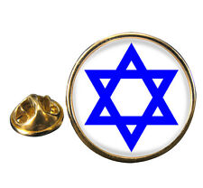 Star of David Lapel Pin Badge