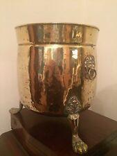 Antique Brass Victorian Coal Bucket