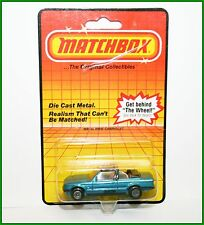 Vintage 80s Matchbox Toy Car MB39 BMW Cabriolet 323L Blue Metal Base   NEW!!