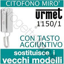 URMET Citofono Mirò 1150/1 universale tasto aggiuntiv sostituisce vecchi modelli
