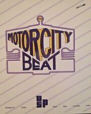 Radio Show: MOTOR CITY BEAT 8/15/87 MIRACLES, SPINNERS, TEMPTATIONS, DIANA ROSS