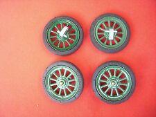 z 801/ 2  Schuco Rad = Reifen Felge Achsschenkl für Blechspielzeug Auto Oldtimer