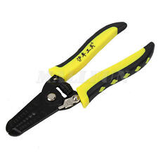 Multifunctional Cable Wire Stripper Crimping Plier equipment Rubber Handle Tool