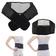 Deluxe Double Pull Magnetic Lumbar/ Lower Back Support Belt Breathable Brace OY