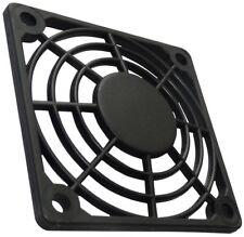 4x Grille noire de protection 60x60mm ventilation pour ventilateur boîtier PC