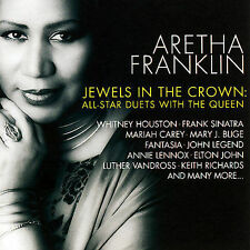 Jewels in the Crown: All Star Duets with the Queen by Aretha Franklin (CD, Nov-2