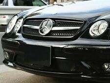 Mercedes W215 C215 CL Single Slat Sport grille grill Black AMG Style