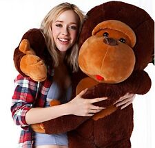 "Joyfay® 50"" 130 cm Monkey Gorilla Stuffed Plush Animal Toy Valentine's Gift"