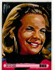 The Women of Avengers Sketch Card drawn by Lee Lightfoot