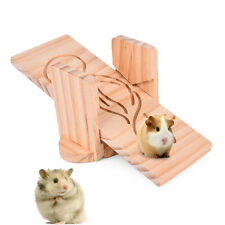 Funny Pet Hamster Chinchillas Guinea Pig Rabbit Seesaw Toy Wood SEE-SAW Swing