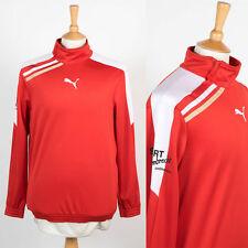 MENS PUMA LONG SLEEVE TRAINING TOP SWEATSHIRT WARM UP TRACK JACKET ARSENAL S