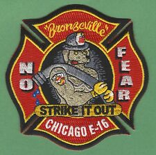CHICAGO FIRE DEPARTMENT ENGINE COMPANY 16 PATCH