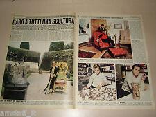MIGUEL ORTIZ BERROCAL clipping ritaglio articolo foto photo 1970 NEGRAR VERONA