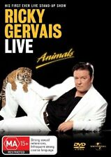 Ricky Gervais - Live : Animals (DVD, 2006) New & Sealed, Region: 2 & 4