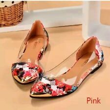New Arrival Korean Fashion Women's Casual Floral Print Metal Decorative Pointed