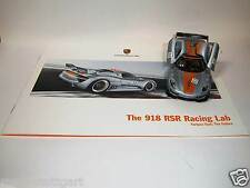Porsche 918 rsr racing Lab-the future prospectus + pullback-voiture miniature 1:38