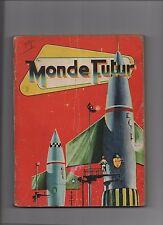 MONDE FUTUR. Album éditeur des n°7 à 12. ARTIMA 1959/1960.