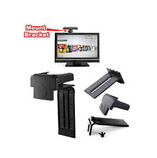 Xbox 360 Consol Game Kinect Sensor Mount Bracket Holder Cradle Clip Screen HD TV