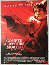 Affiche COMPTE A REBOURS MORTEL D-Tox SYLVESTER STALLONE Gillespie 40x60cm *