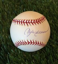 Andre Dawson signed MLB National League Baseball The Hawk